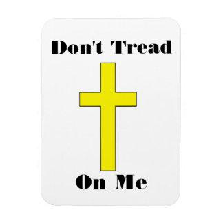 Don't Tread On Me - Cross Religious Freedom Magnet