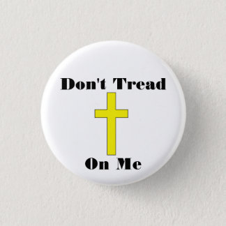 Don't Tread On Me - Cross - Religious Freedom Pin