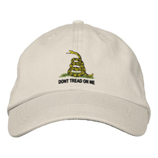 Dont Tread On Me Embroidered Baseball Caps