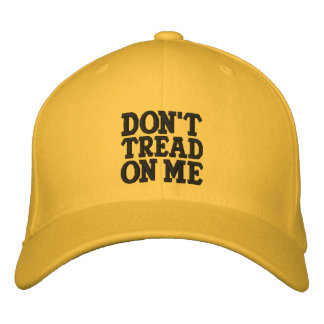 Don't Tread On Me Embroidered Baseball Cap