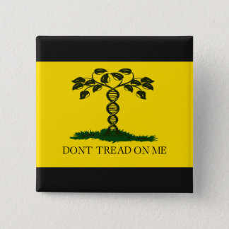 Don't Tread on Me - for scientists 15 Cm Square Badge