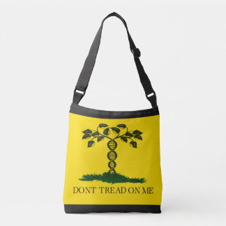 Don't Tread on Me - for scientists Crossbody Bag