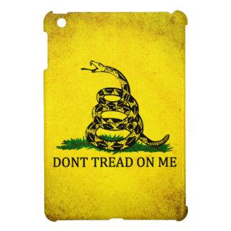 Dont Tread On Me Gadsden Flag - Distressed iPad Mini Cases