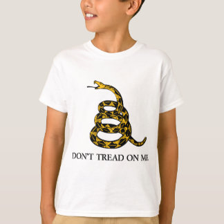 don't tread on me - gadsden flag libertarian T-Shirt