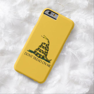 Don't Tread on Me, Gadsden Flag Patriotic History Barely There iPhone 6 Case