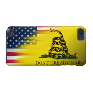 Don't Tread on Me-Gadsten/U.S. Flag iPod Touch 5G Covers