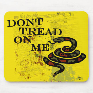 Dont Tread on Me Mouse Mat
