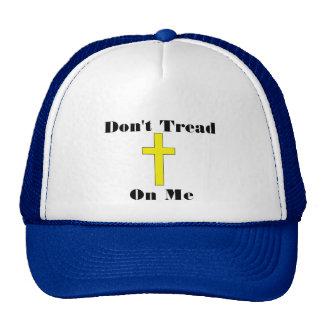 Don't Tread On Me plus Cross Religious Freedom Hat