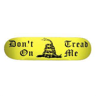 Don't Tread On Me Rattlesnake SKateboard