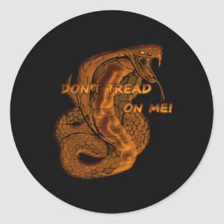 Don't Tread On Me Snake Stickers