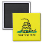 DON'T TREAD ON ME SQUARE MAGNET