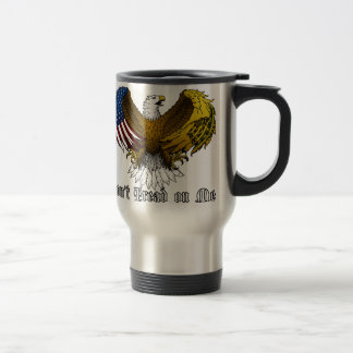 """Don't Tread on Me"" Stainless Steel Travel Mug"