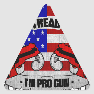 Don't Tread On Me Triangle Stickers