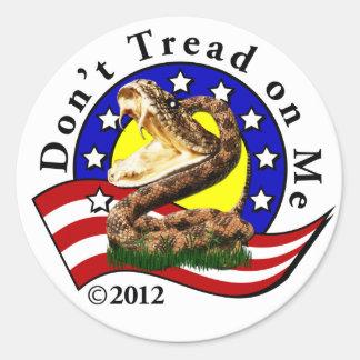 Dont Tread on Me Sticker