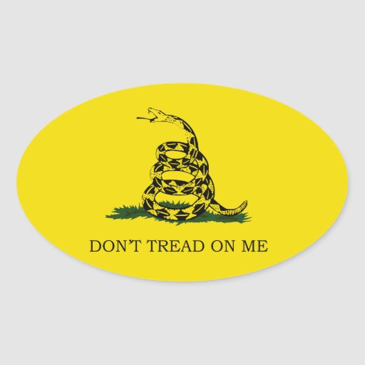 Don't Tread On Me Stickers