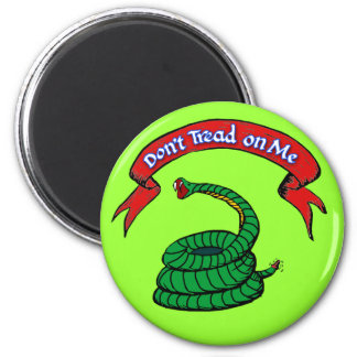 Don't Tread on Me T-shirts 6 Cm Round Magnet