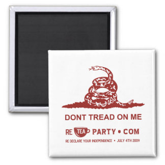 Dont Tread On Me Tea Party Magnet