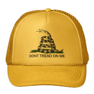 Dont Tread On Me Tea Party Movement Hat