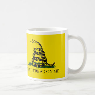 DONT TREAD ON ME The Gadsden Flag Coffee Mug
