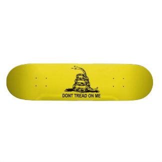 Don't Tread on Me The Gadsden Flag Skateboard Decks