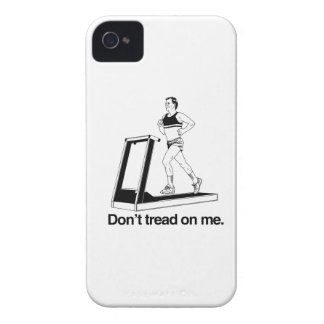 Don't tread on me treadmill iPhone 4 case