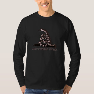 Don't Tread On Shirt In Black