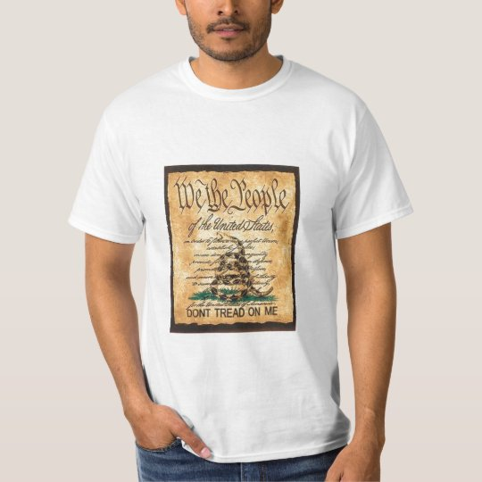 Don't Tread on The Constitution T-Shirt