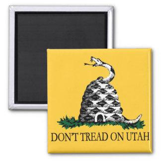 Don't Tread on Utah Square Magnet