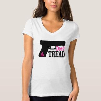 Don't Tread - Pink T-Shirt