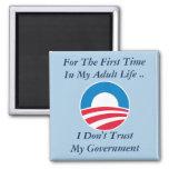 Don't Trust Government Fridge Magnets