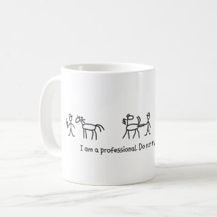 b63e9121152 Don't Try This at Home (Veterinarian) Professional Coffee Mug