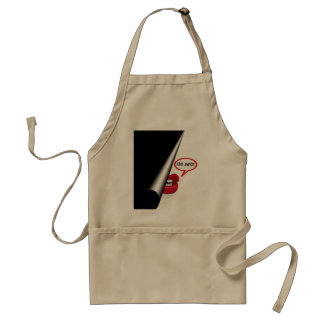Don't Try This Standard Apron