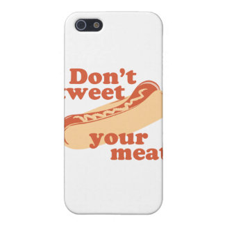 Don't Tweet Your Meat - iPhone 5 Cover