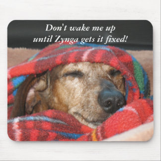 Don't wake me mouse pad
