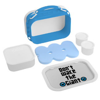 Don't wake the Giant Lunch Box