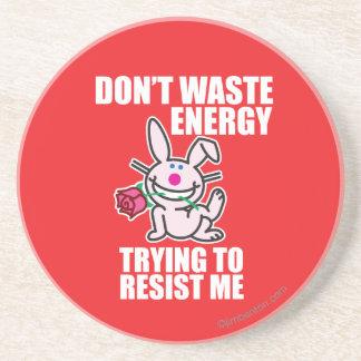 Don't Waste Energy Coaster