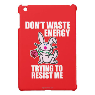 Don't Waste Energy iPad Mini Case