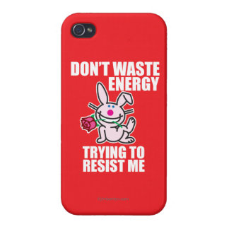 Don't Waste Energy iPhone 4 Case