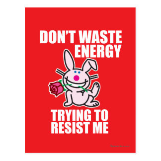 Don't Waste Energy Postcard