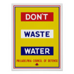 Don't Waste Water -- WPA