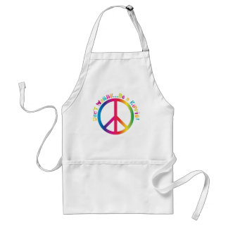 Don't Worry...Be a Hippie Standard Apron
