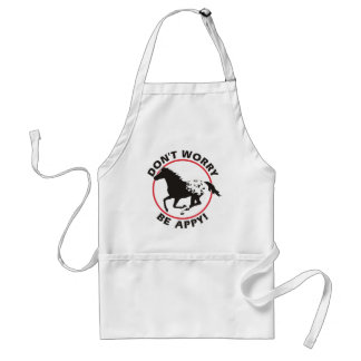 Don't Worry Be Appy Standard Apron