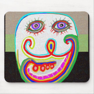 Don't Worry, Be Happy Mouse Pad