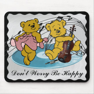 DON'T WORRY BE HAPPY-MOUSEPAD