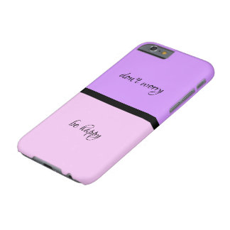 """""""don't worry, be happy"""" phone case"""