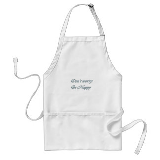 Dont worry be happy standard apron