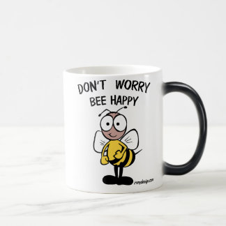 Don't Worry Bee Happy Morphing Mug