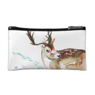 Don't Worry Deer - Small Cosmetic Bag