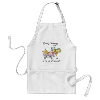 Don't Worry I'm a Nurse Tshirts and Gifts Standard Apron