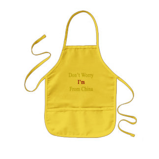 Don't Worry I'm From China Kids' Apron